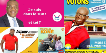 affiche électorale côte d'ivoire
